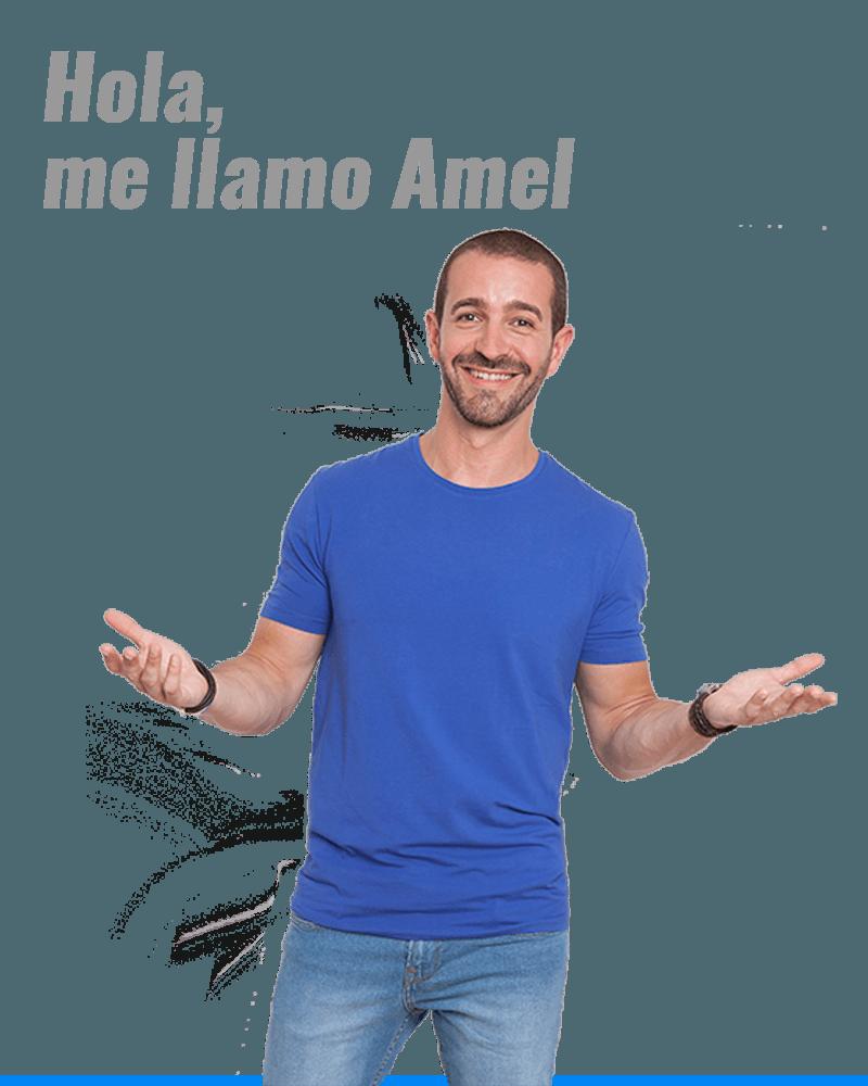 HOLA ME LLAMO AMEL FERNANDEZ