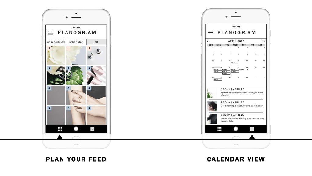 programar publicaciones en instagram Planogram