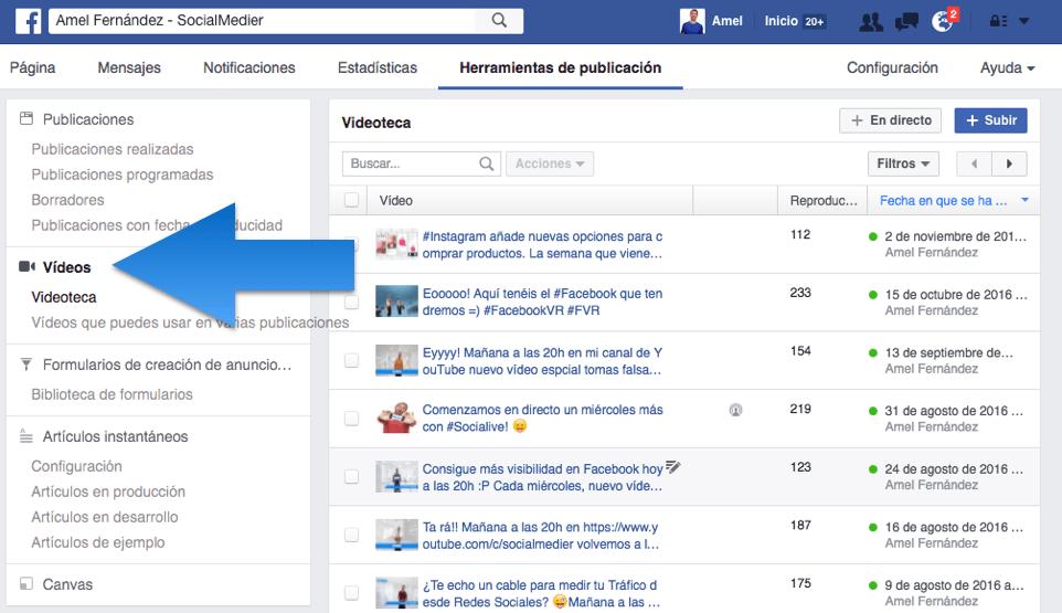 facebook live ordenador transmitir en vivo