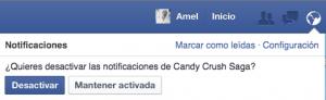 bloquear candy crush saga