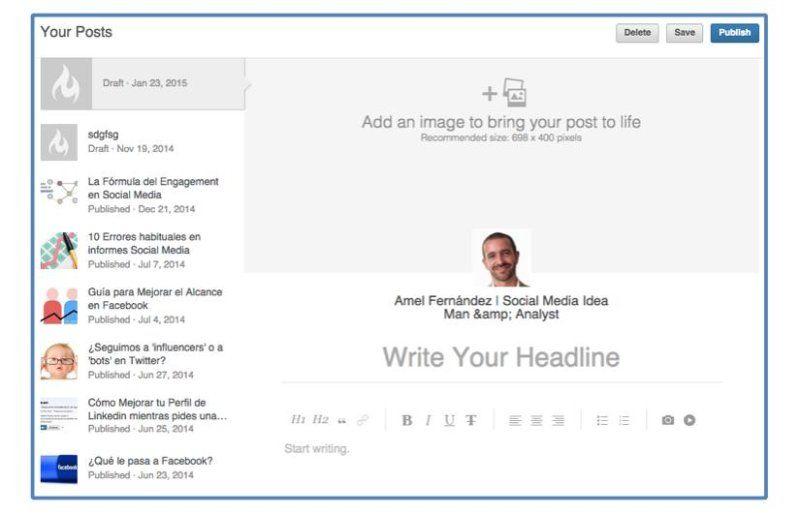 publicar post linkedin pulse 3