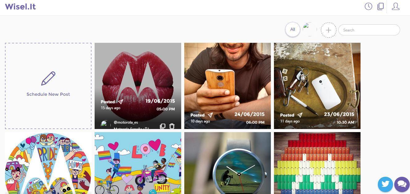 herramientas para programar en instagram Wiselit