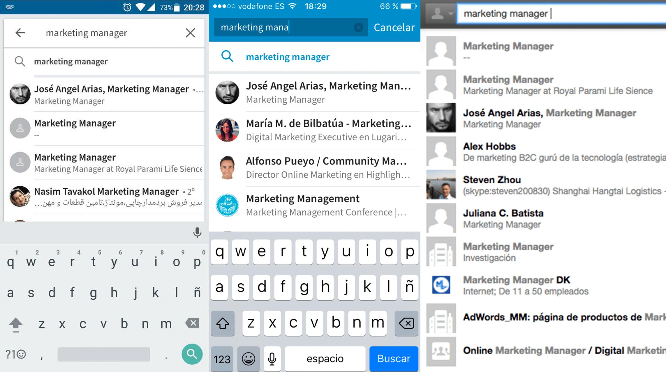 SEO en Linkedin - Marketing Manager 2
