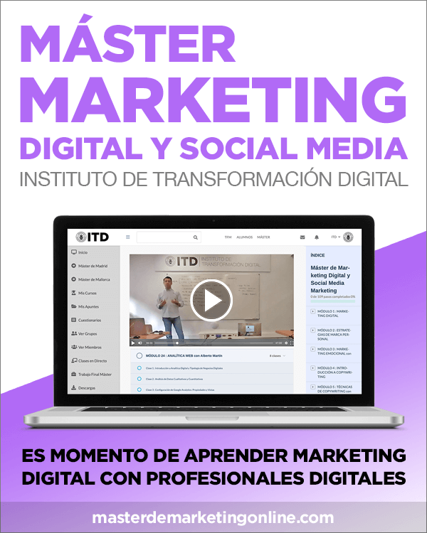 Máster de Marketing Digital